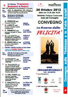 Convegno La ricerca della felicità | Ellepi Associati - Ancona