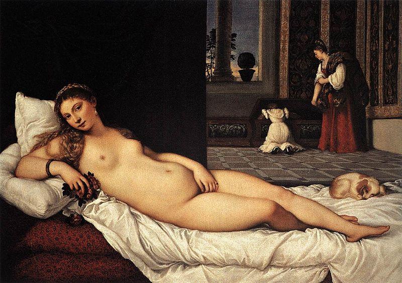 Venere di Urbino Tiziano
