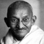 Il Mahatma Gandhi era timido