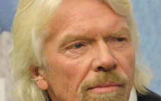 Sir Richard Branson è timido