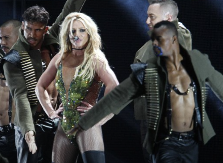 Britney Spears è timida