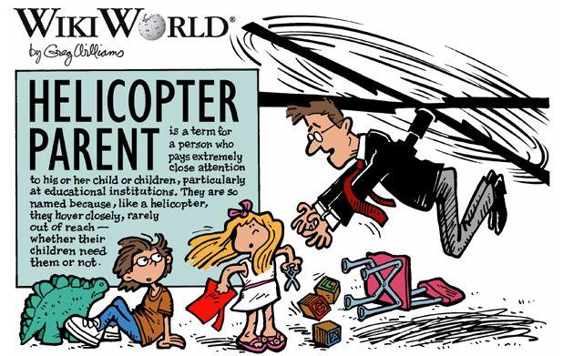 genitori elicottero