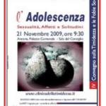 L'Adolescenza, Convegno Ancona