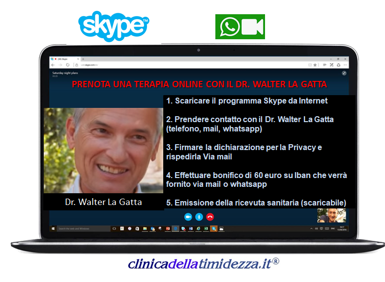 Terapie online Dr. Walter La Gatta