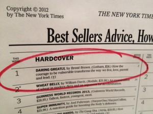 Daring Greatly NYT