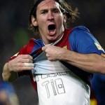 Leo Messi è timido