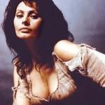 Sophia Loren è timida